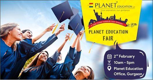 Planet Education Fair Gurgaon