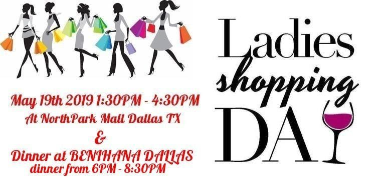Ladies Shopping Day (Lets shop till we drop)