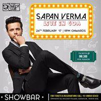 Sapan Verma Live In Goa