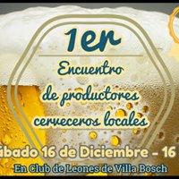 Primer Encuentro De Productores Cerveceros Locales