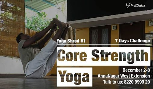 Yoga Shred Core Strength