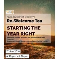 NUSBSs Re-Welcome Tea