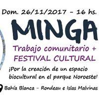 MINGA Trabajo comunitario y Festival Cultural