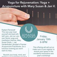 Yoga for Rejuvenation Yoga and Acupuncture