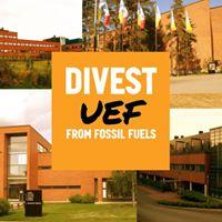 UEF go fossil free Kuopiossa