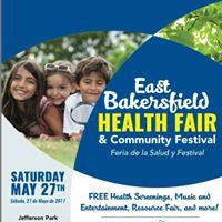 East Bakersfield Health Fair &amp Community Festival