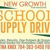 School Supplies Drive for Thomasboro Academy