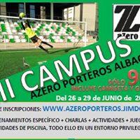 3er Campus AZERO Porteros Albacete