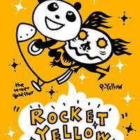 Rocket Yellow Art Show