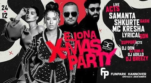 1 YEAR Ejona-Event @ Funpark Hannover - X-Mas Edition at