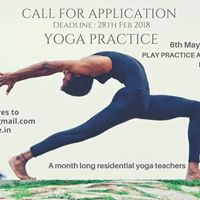 Yoga Practice a month long residential yoga TTC  INDIA