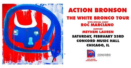 Action Bronson at Concord Music Hall