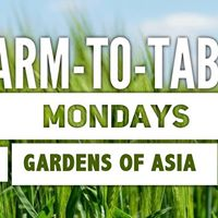 Farm to Table Dinner - Summer Gardens of Asia Korea