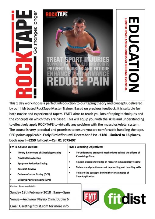 Rocktape FMT Level 1 Course