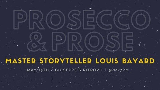 Prosecco and Prose Acclaimed Author Louis Bayard
