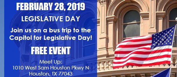Legislative Day - Ride Our Bus to Austin