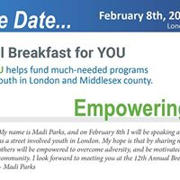 12th Annual Breakfast for YOU