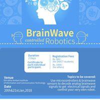 BrainWave contolled Robotics Workshop