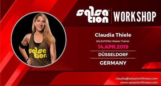 Salsation Workshop with Claudia in Dsseldorf Germany
