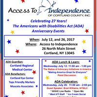 ADA 27th Anniversary Celebration