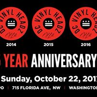 DC Vinyl Headz 5 year Anniversary Party