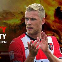 Exeter City v Notts County Tues Sept 26 7.45pm