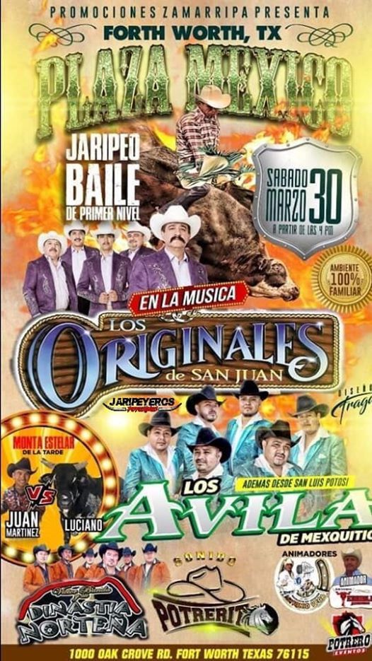 Jaripeo Baile Plaza Mexico