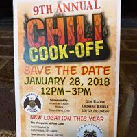 American Legion Riders 9th Annual Chili Cook-Off