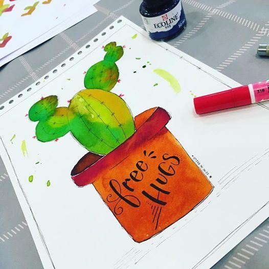 Workshop illustraties & waterverfliefde Baarn