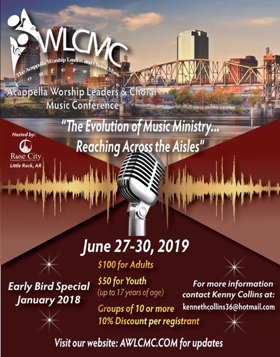 2019 Acappella Worship Leaders & Choral Music Conference