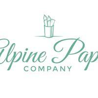 Alpine Paper Co. Hand Lettering Workshop