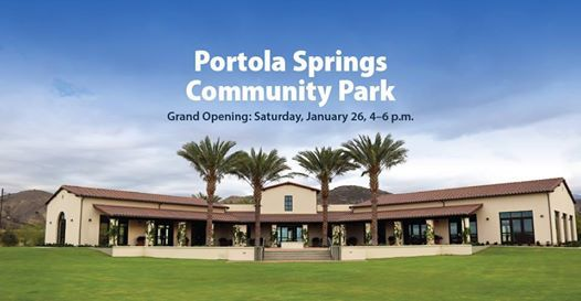Portola Springs Community Park Grand Opening and Dedication