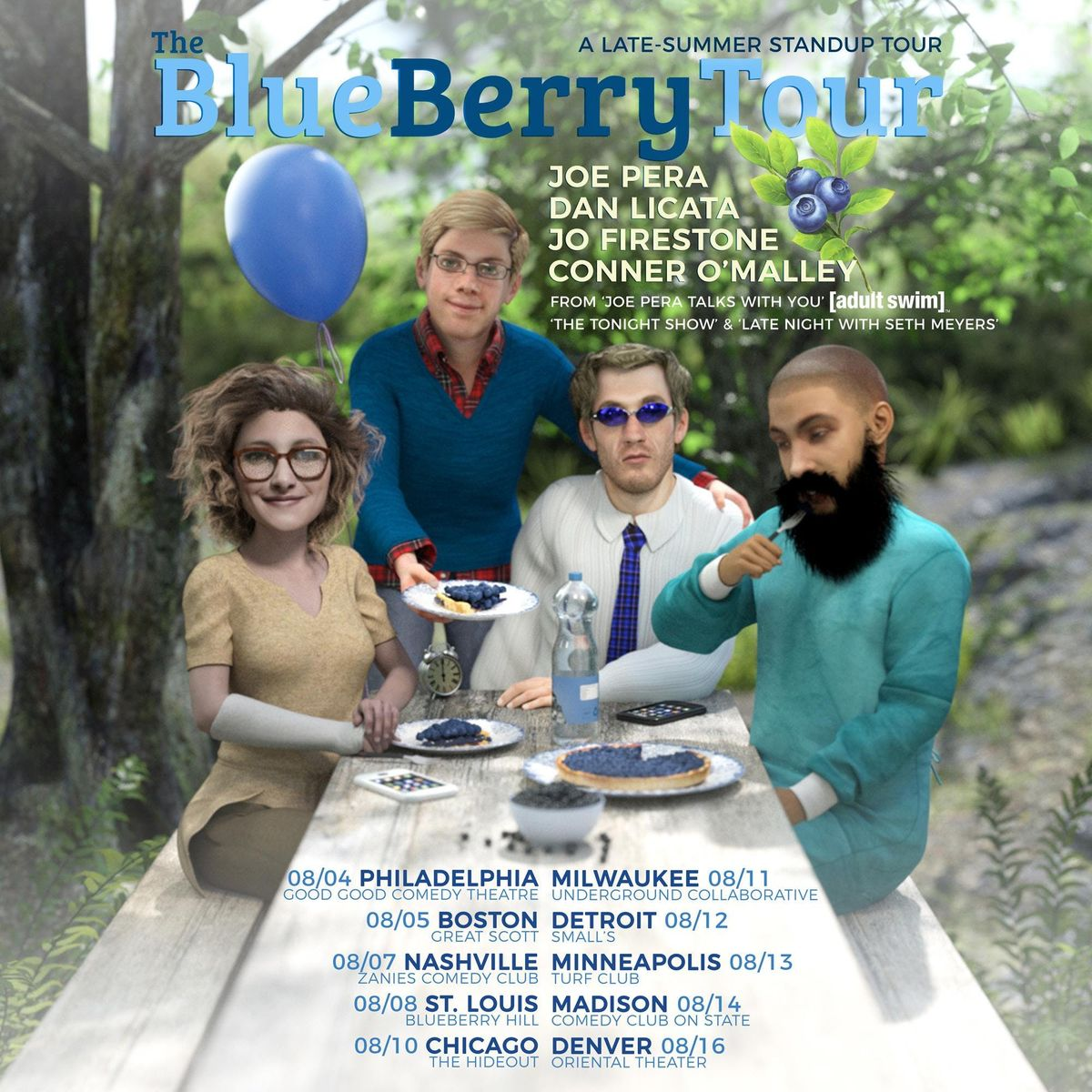Joe Pera: The Blueberry Tour at The Underground Collaborative, Milwaukee