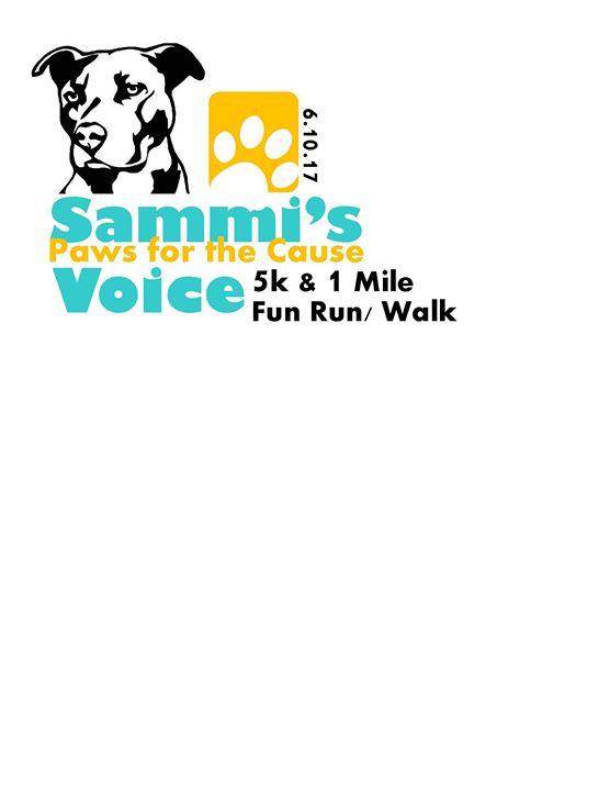 Sammis Voice Paws for the Cause 5K & 1 mile fun runwalk