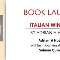 Book Launch of Italian Window by Adrian Husain