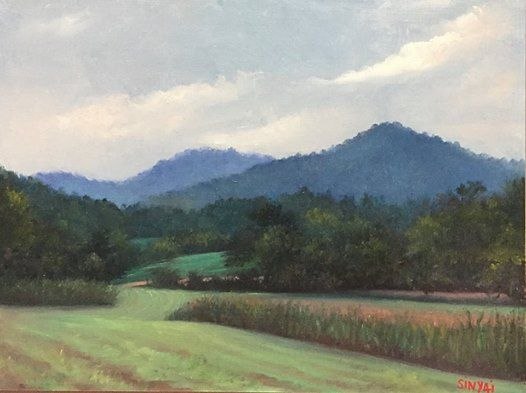 Celebrate and Paint The Landscape A Two Day Workshop in Oils