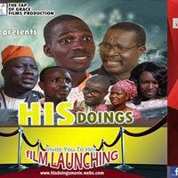 His Doings Movie Launching
