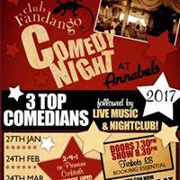 Club Fandango Comedy Night with ALex Hart and Friends