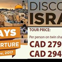 Final Discover Israel Info Night