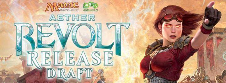 MTG Aether Revolt Release Draft