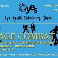 Stage Combat Classes