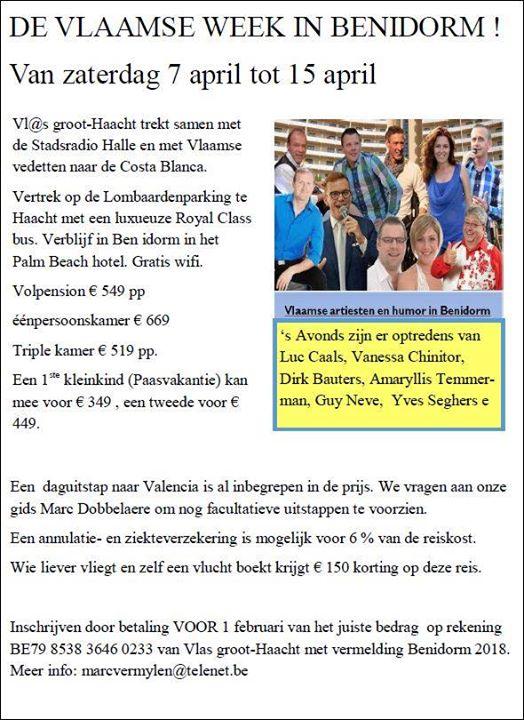 Vlaamse week in Benidorm