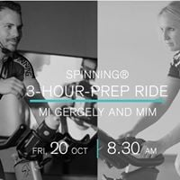 Spinning 3-Hour-Prep Ride
