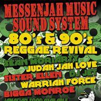 MessenJah Music 80s &amp 90s Reggae Revival