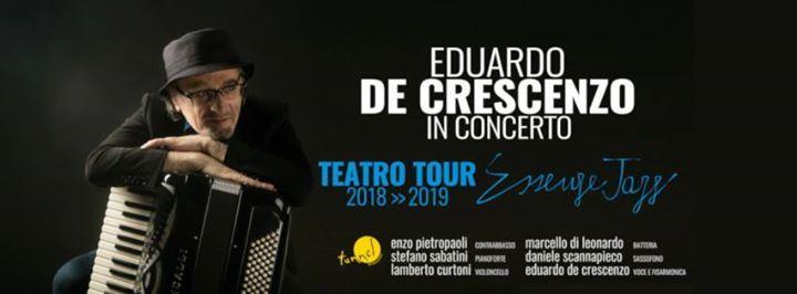 Eduardo De Crescenzo in  Essenze Event  at Teatro Cilea - NA