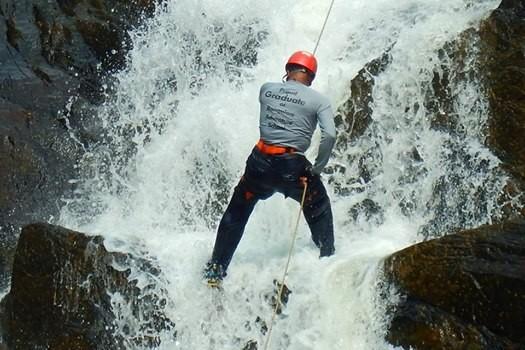 Canyoning Training in Meghalaya