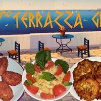 Cena vegan in terrazza Grecia