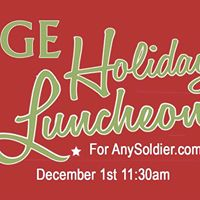 SAGE Holiday Luncheon with Packing Christmas Boxes for Soldiers