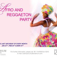 Afro &amp Raggaeton Dance Party at Club Rizzoli