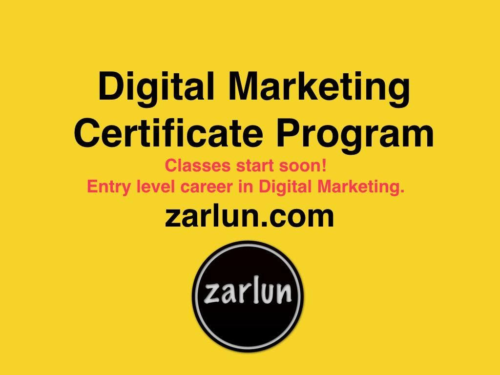 Best Digital Marketing Certificate Program Kansas City At Kansas